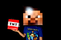 Minecraft Party Photobooth