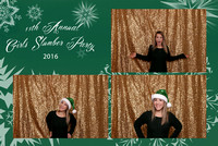 11th Annual Girls Sleepover 2016 Photo Booth