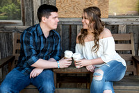 Maddy and Kyle's engagement session